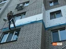 Утепление фасадов многоквартирных домов
