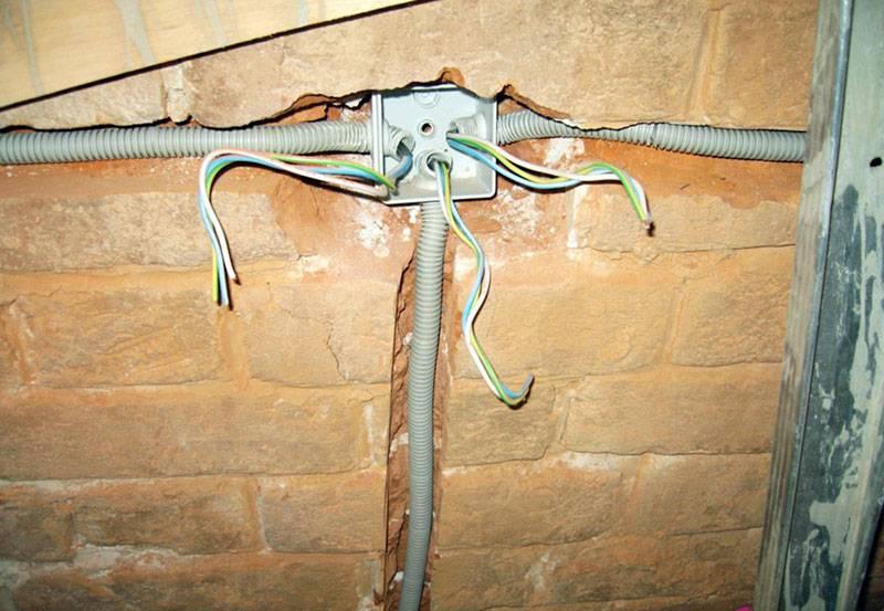 Схема электрики в доме