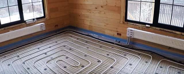 Тёплый пол и радиаторы