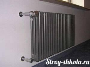 Расчёт радиаторов отопления на квадратный метр