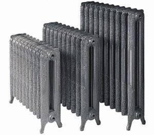 Установка чугунных радиаторов