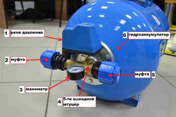 Настройка датчика давления насосной станции