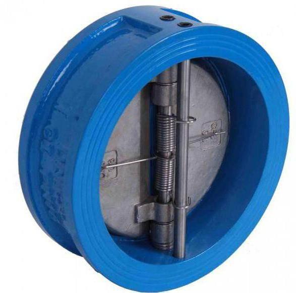 Клапан обратный на канализационную трубу