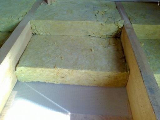 Пирог пола первого этажа по деревянным балкам