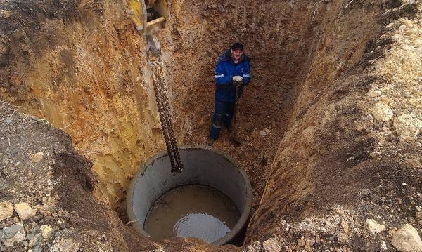 Объем бетонного кольца 1 метр