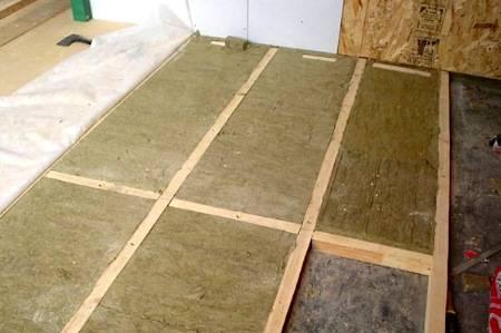 Плотность минваты для утепления стен