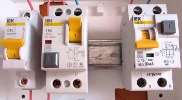 Как подключить диф автомат