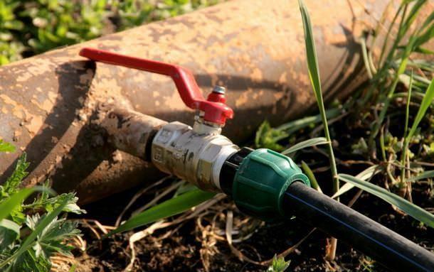 Система полива огорода своими руками