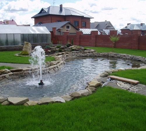 Насос для садового фонтана