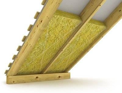 Правильное утепление крыши