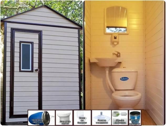 Где поставить туалет на дачном участке