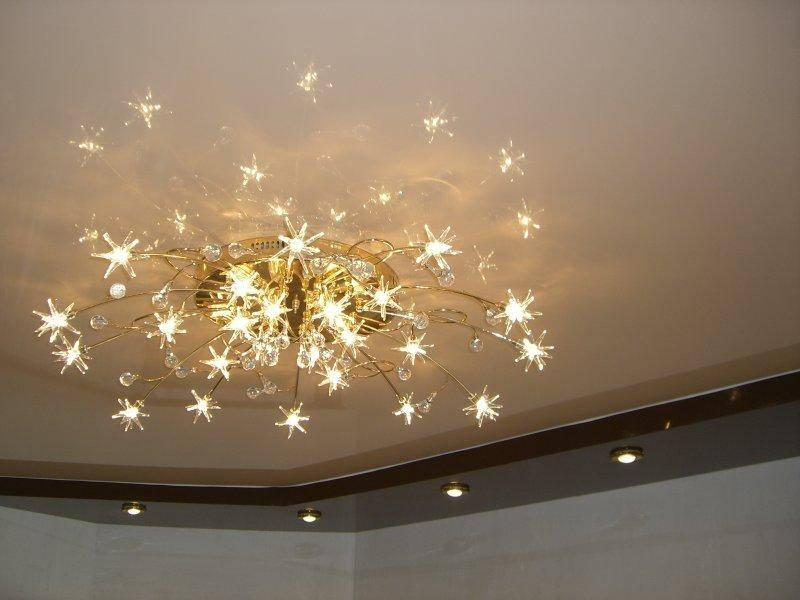Светодиодные лампочки для натяжного потолка