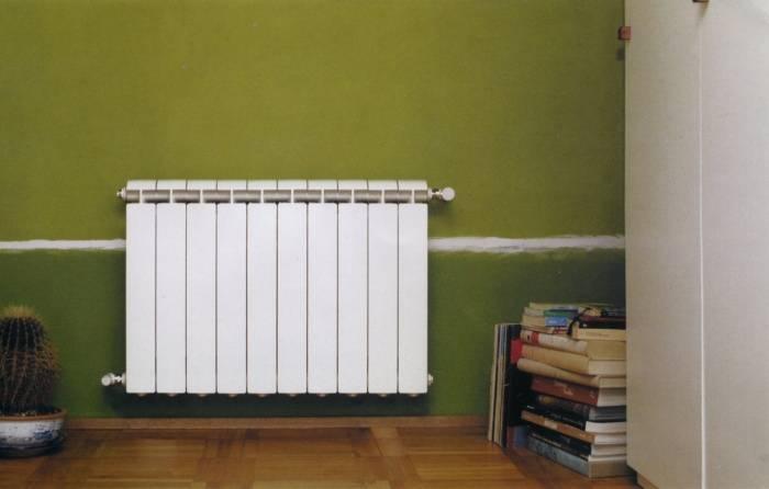 Габариты радиаторов отопления