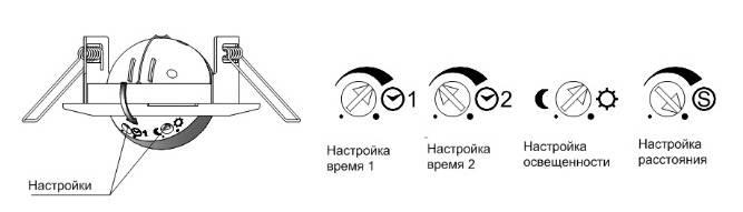 Подключение датчика движения для освещения с выключателем