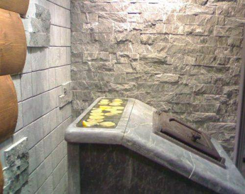Изоляция печи в бане от стен