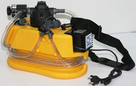 Насос для промывки систем отопления