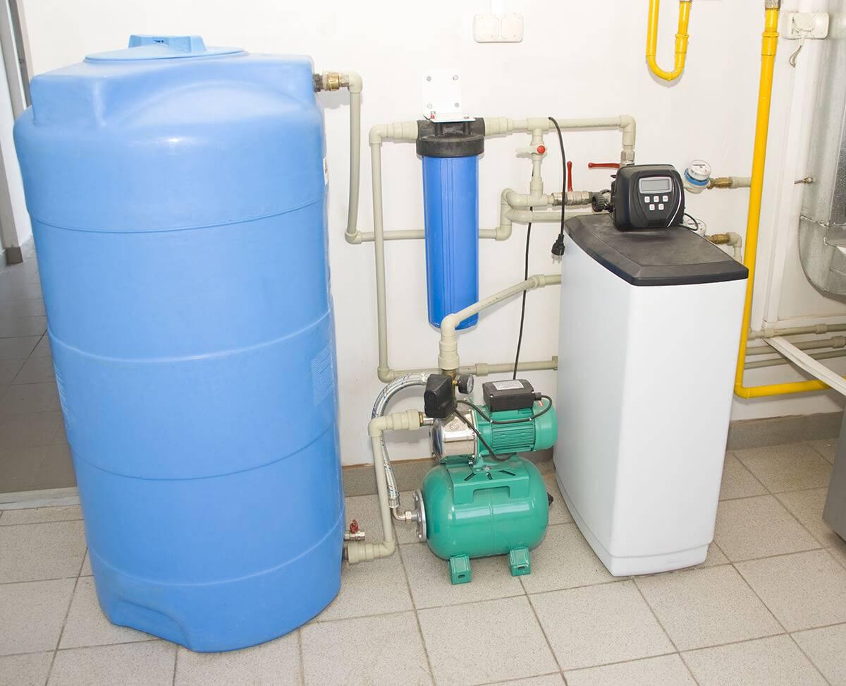 Очиститель воды для дачи