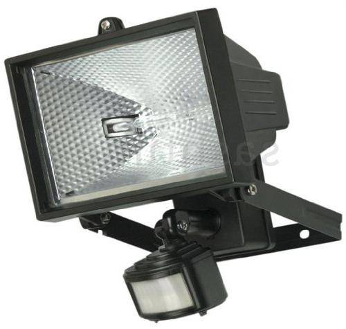 Подключение датчика движения к прожектору