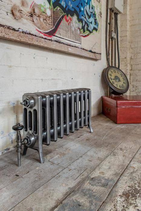 Вес 1 секции чугунного радиатора