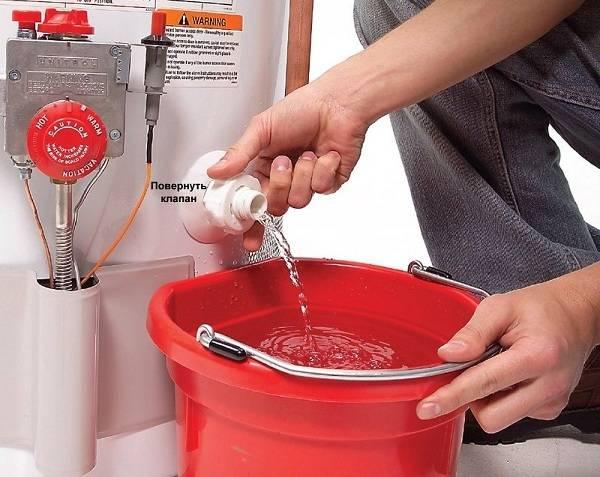 Вода из водонагревателя