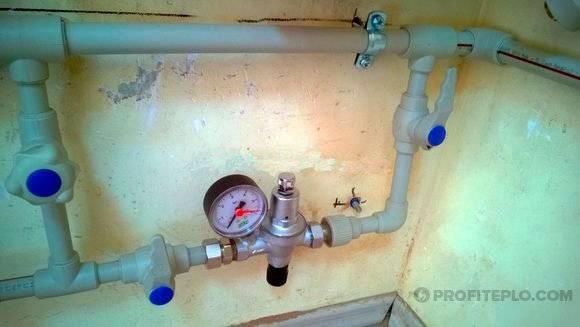 Клапан автоматической подпитки системы отопления