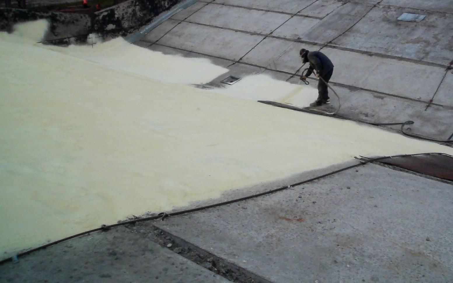 Утепление плоской крыши