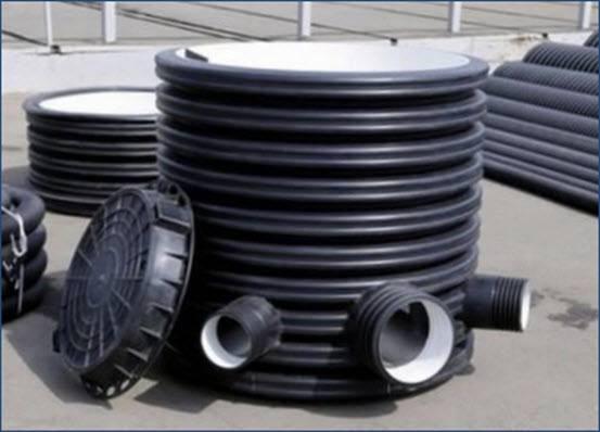Пластиковые кольца для канализационных колодцев