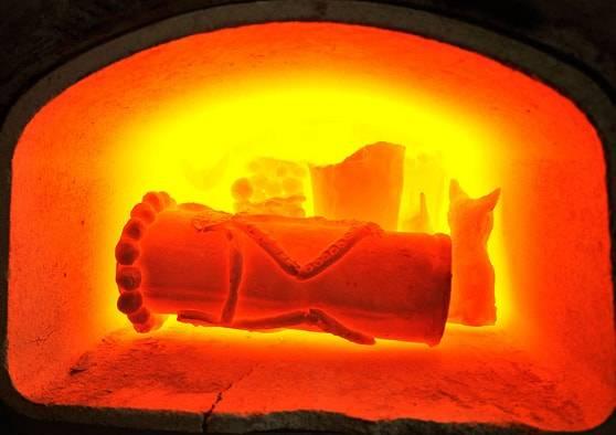 Газовая керамическая печь