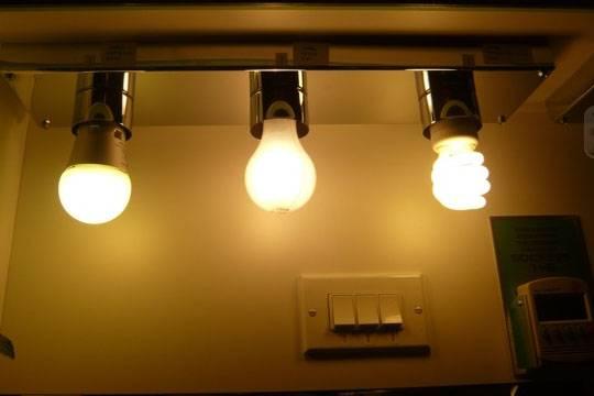 Замена ламп накаливания на светодиодные
