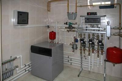 Теплый пол водяной от газового котла