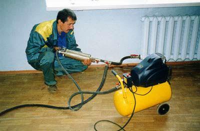 Насос для промывки системы отопления