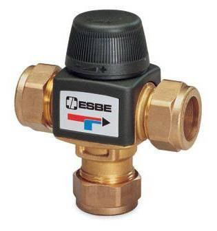 Трёхходовой клапан для отопления с терморегулятором