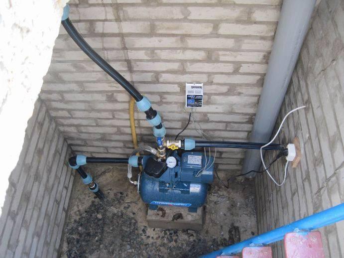 Давление воды в водопроводе в частном доме