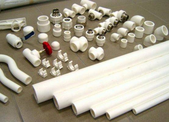 Пластиковые водяные трубы