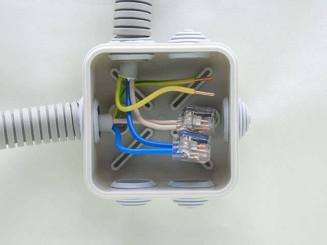 Электрические распредкоробки