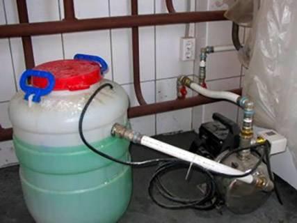 Жидкость для системы отопления незамерзающая