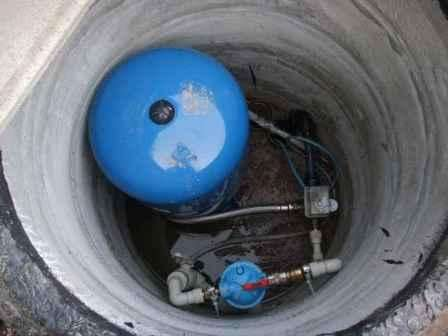 Ввод воды в дом из колодца