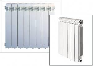 Монтаж биметаллических радиаторов отопления