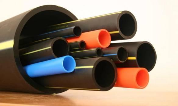 ПВХ (поливинилхлоридные) трубы.