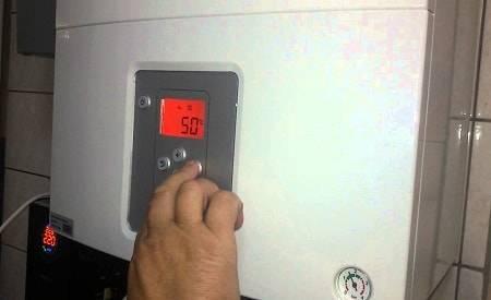 Как выключить газовый котел