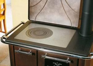Чугунная плита на печь