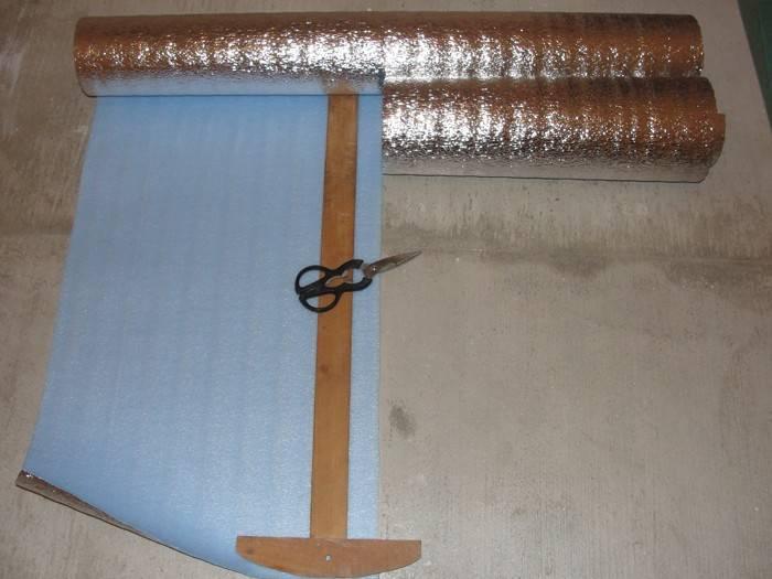 Теплоизоляция под теплый пол электрический
