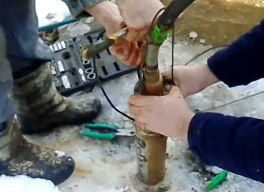 Ремонт насоса водомет