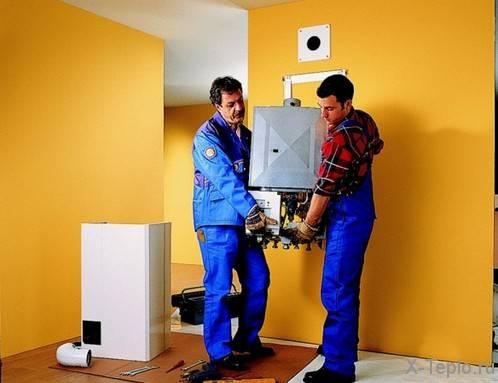Отопление газом в частном доме