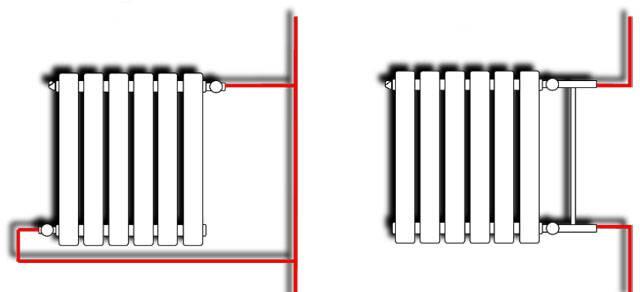 Система отопления ленинградка для двухэтажного дома