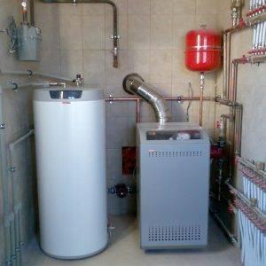 Напольный газовый котел для отопления частного дома