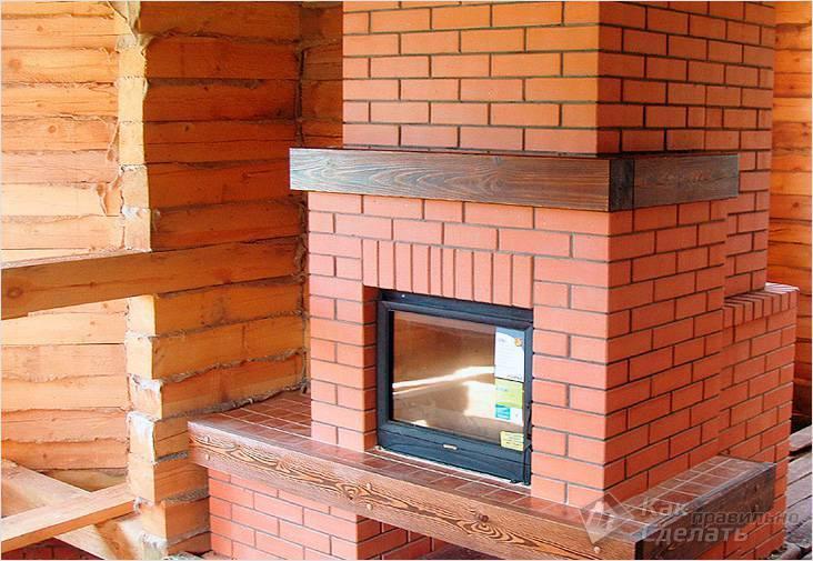 Камин для дома на дровах