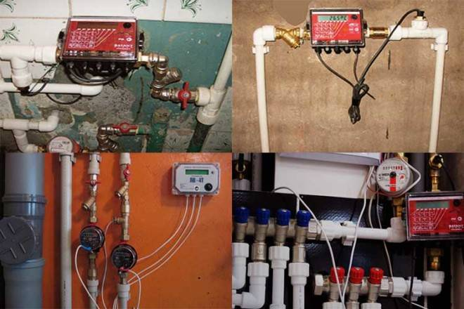 Счетчики горячей воды с термодатчиком для квартиры