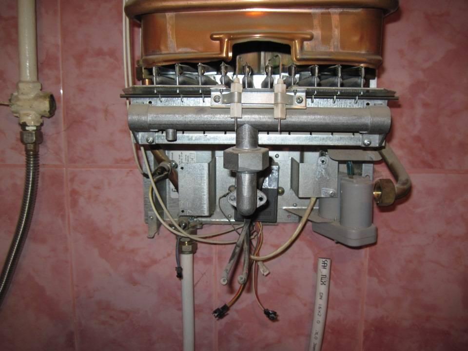 Газовая колонка нева инструкция