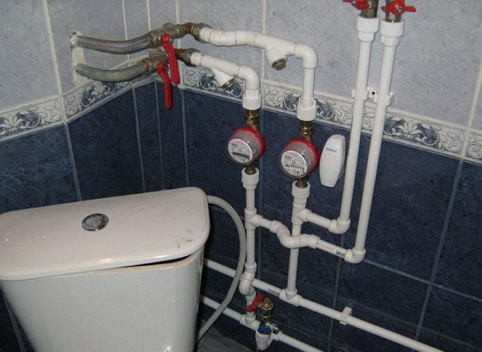 Правила установки счетчиков воды